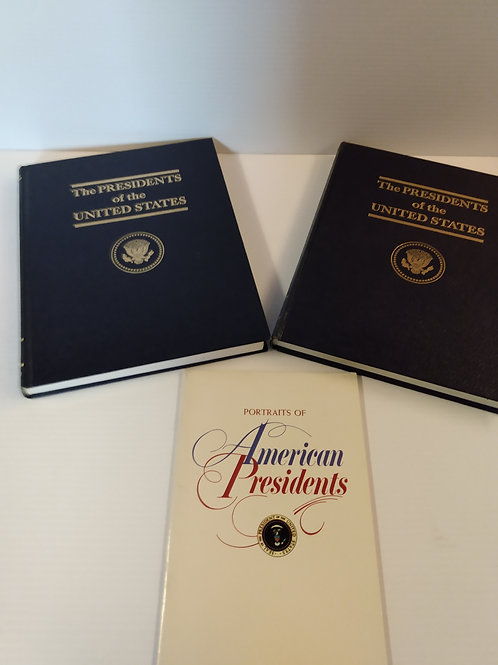 The Presidents of the United States Two Volume Historical Set