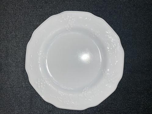 "Westmoreland Milk Glass ""Harvest Grape"" Salad Plate (Set of 4)"