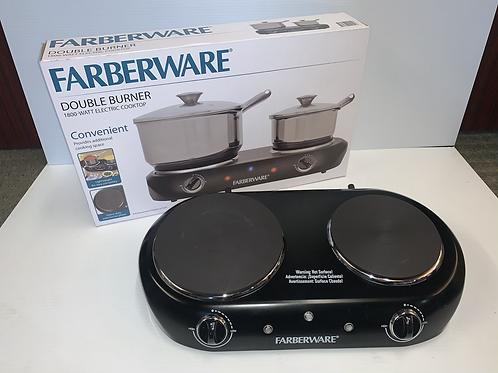 Farberware Double Burner Cooktop