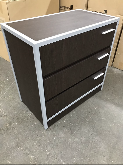 Three drawer chest