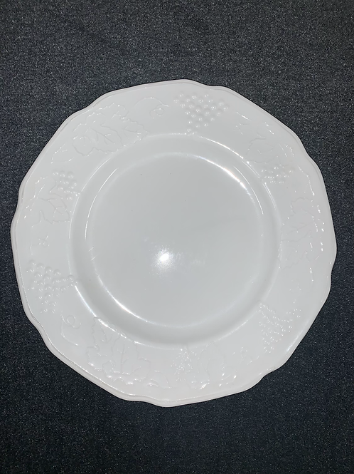 "Westmoreland Milk Glass ""Harvest Grape"" Luncheon Plate"
