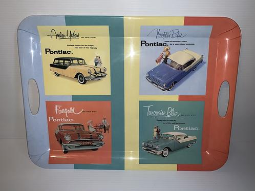 Rare 1955 Pontiac Evolution Serving Tray