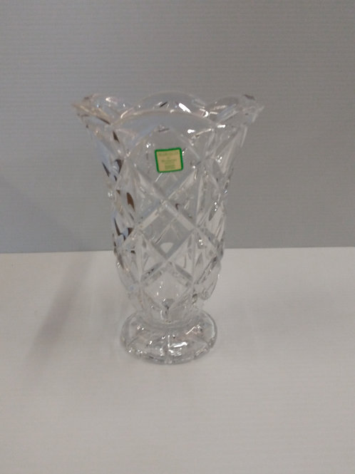 "Marquis 'by' Waterford Crystal 8"" Footed Crystal Vase"