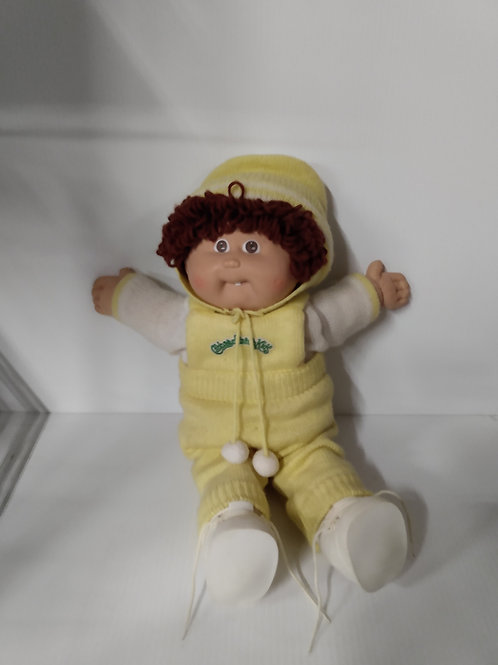 Vintage 1982 Cabbage Patch Kids Baby Doll