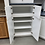 Thumbnail: Cabinet Set - white with corian tops, 12pcs