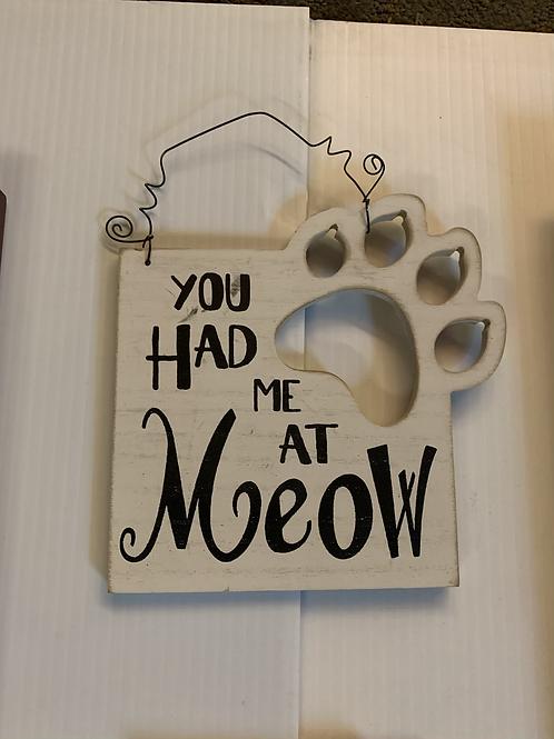 """You Had Me At Meow"" Decor"