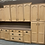 Thumbnail: Cabinet Set - light brown with laminate tops, 9pcs