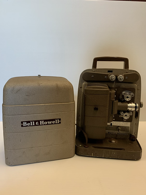 1960s Bell and Howell Movie Projector