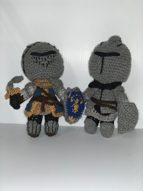 Crocheted Knights