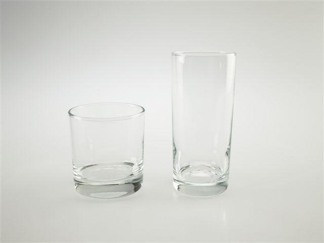 Hi ball and Rox glass