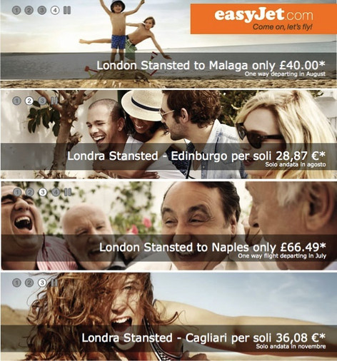 Easyjet Campaign