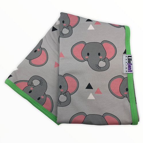 Grå elefanter - filt