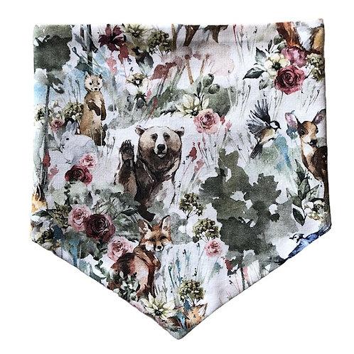 Sommar skogsdjur bandana