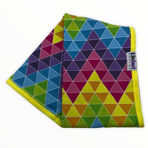 Zigzag trianglar - filt