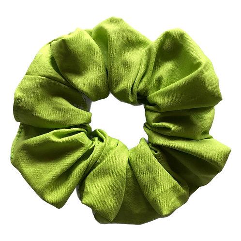 Lime scrunchie