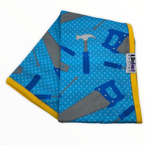 Blå verktyg - filt
