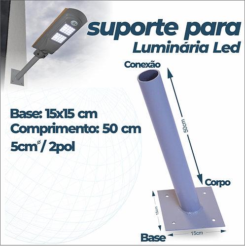 Suporte Para Luminária Pública - Braço 50 cm