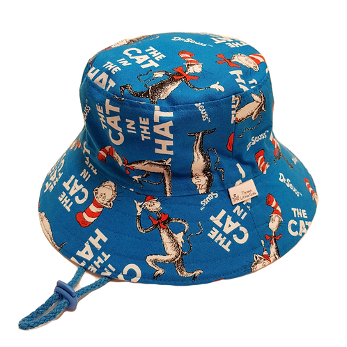 Blue Cat Hat Sunhat