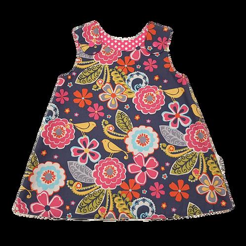 Flowers & Birds Reversible Dress