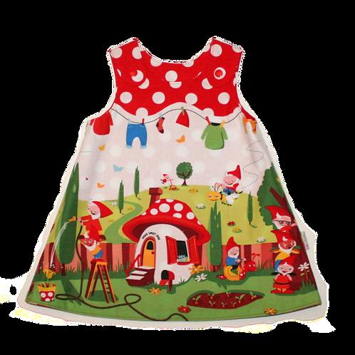 Garden Gnomes Reversible Dress