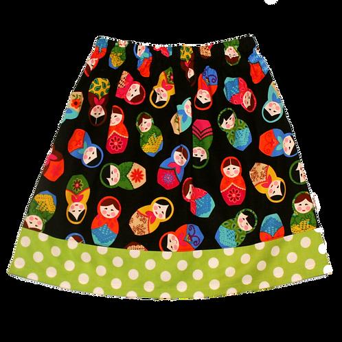 Matryoshka Dolls Skirt