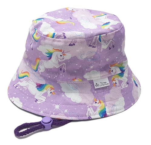 Rainbow Unicorns Sunhat