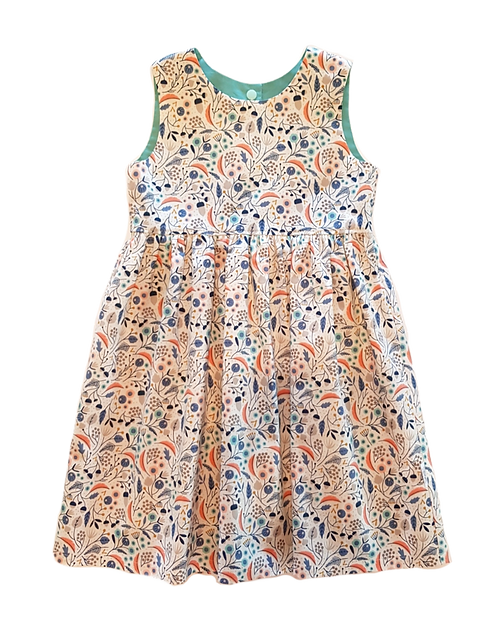 Cream Meadow Pixie Dress