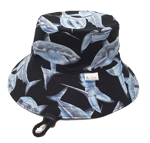 Great White Sharks Sunhat
