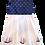 Thumbnail: Navy Sailing Ships Pixie Dress