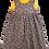 Thumbnail: Grey & Yellow Floral Pixie Dress