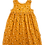 Thumbnail: Mustard Floral Pixie Dress