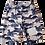 Thumbnail: Dino Camo 3/4 shorts