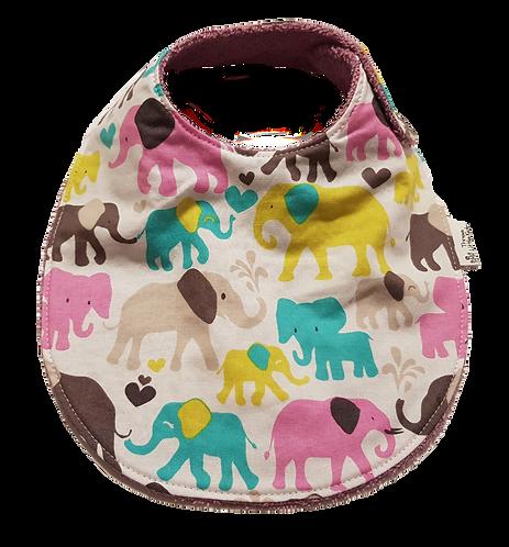 Elephants Bib