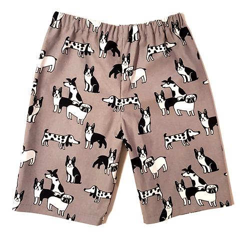 Dogs 3/4 shorts