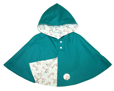 Teal Foxes Cape
