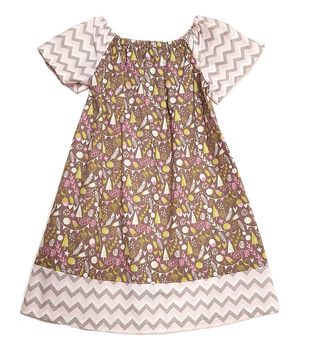 Forest Meadow Peasant Dress