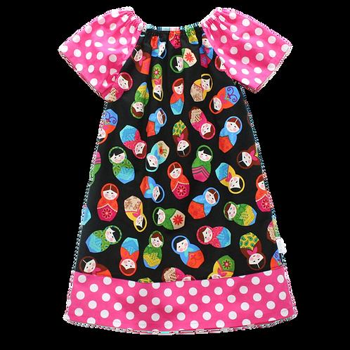 Matryoshka Peasant Dress