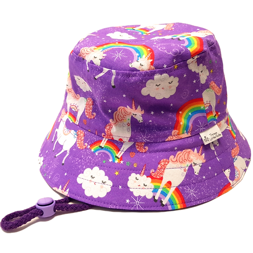 Rainbow Unicorns Sunhat