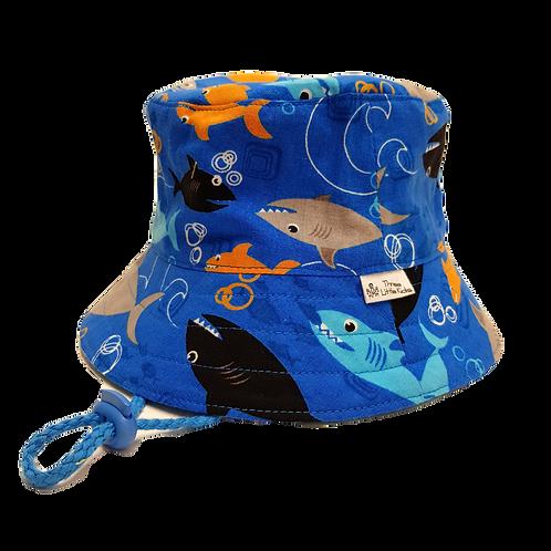 Blue Sharks Sunhat