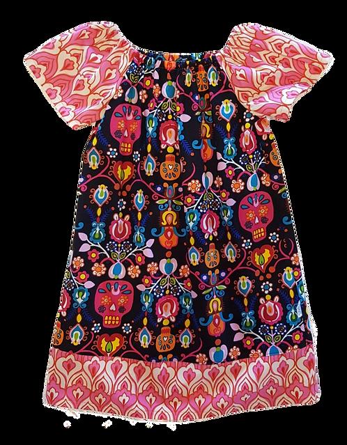 Día de Muertos Peasant Dress