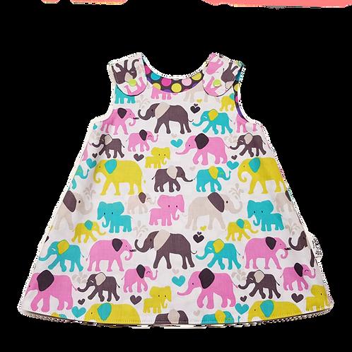 Elephants Reversible Dress