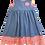 Thumbnail: Red & Cornflower Blue Daisies Pixie II Dress
