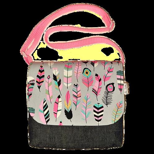 Messenger bag - Feathers