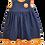 Thumbnail: Mustard Daisies Pixie II Dress