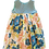 Thumbnail: Lt Teal Floral Pixie Dress
