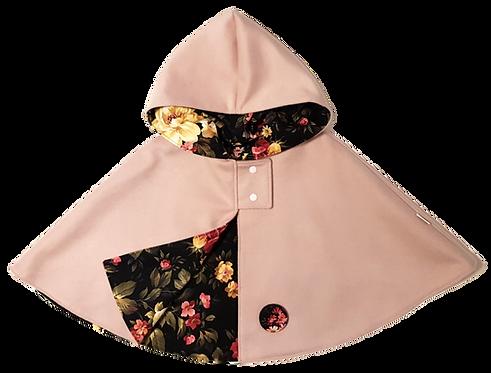 Dusky pink floral Cape