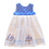 Thumbnail: Blue Sailing Ships Pixie Dress