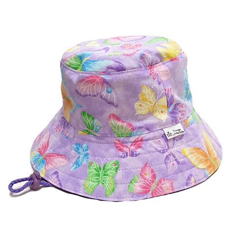 Purple Butterflies Sunhat