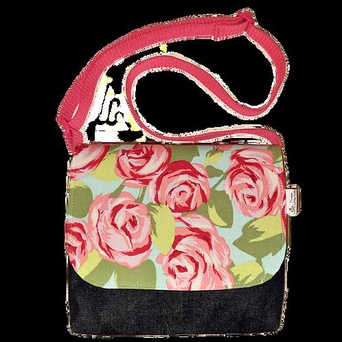 Messenger bag - Roses