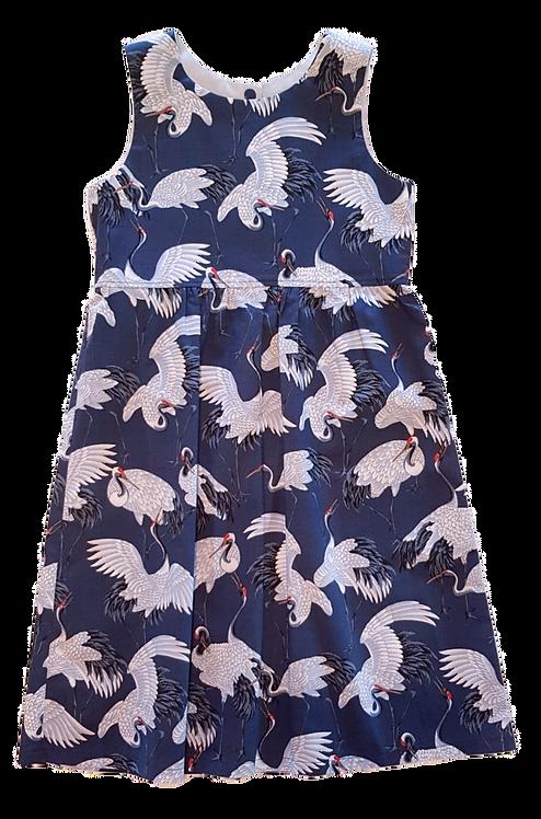 Cranes Pixie Dress